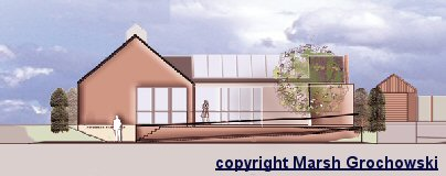 Architects proposal for a new hall